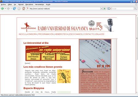 Radio Universidad - Emisoras de Radio - Salamanca